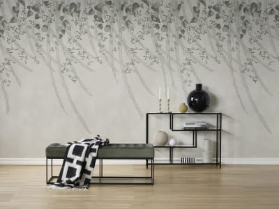 Wall Mural R16781 Lush Foliage, Sage Tint image 1 by Rebel Walls