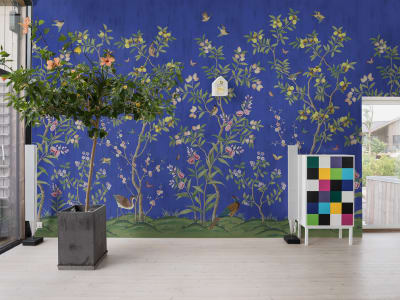 Tapet R16747 Chinoiserie Chic, Cobalt bilde 1 av Rebel Walls