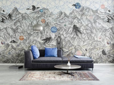 Wall Mural R16891 Moon Rock image 1 by Rebel Walls