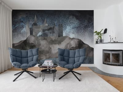 Wall Mural R16951 Cliff Castle image 1 by Rebel Walls