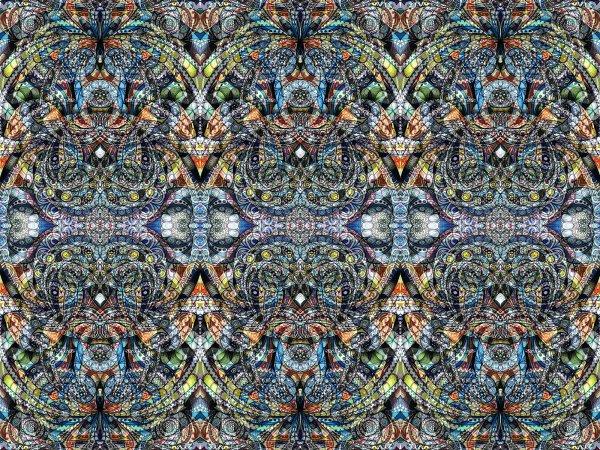 Wall Mural R10581 Kaleidoscope image 1 by Rebel Walls