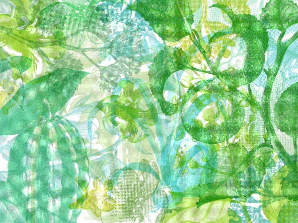 Wall Mural R12022 Jelly Belly Plants, green image 1 by Rebel Walls