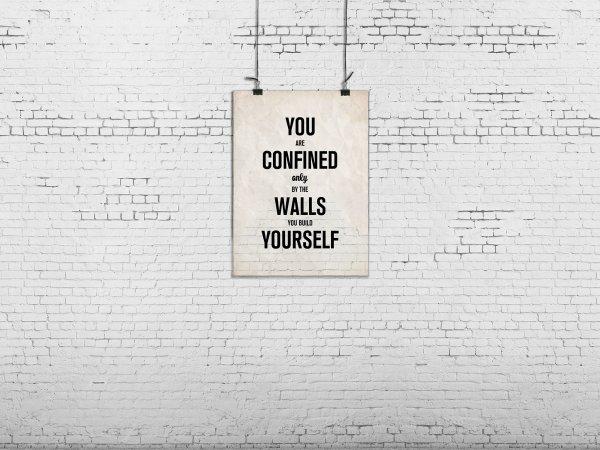 Wall Mural R12404 Poster, brick wall image 1 by Rebel Walls
