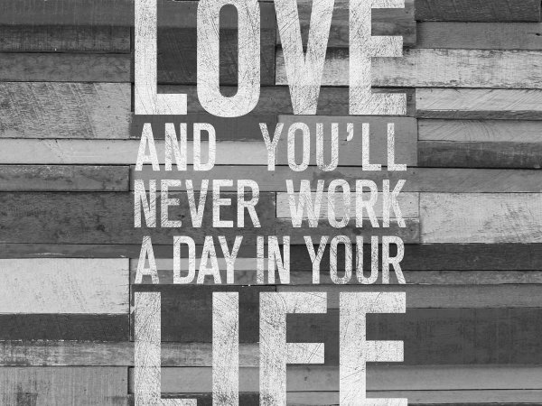 Wall Mural R12403 Quotes, wood wall image 1 by Rebel Walls