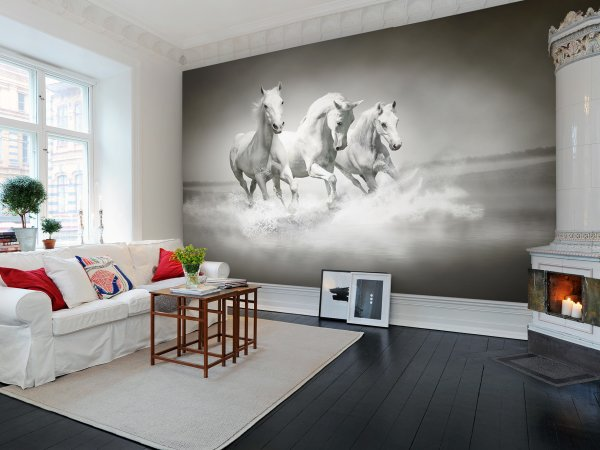 Wall Mural R10201 Horses image 1 by Rebel Walls