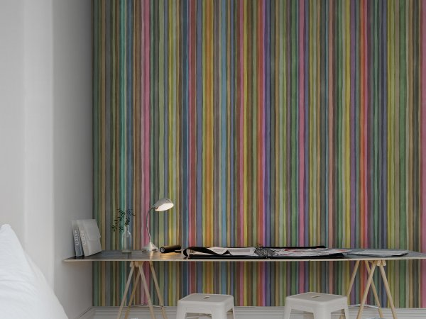 Wall Mural R12351 Ribbon image 1 by Rebel Walls