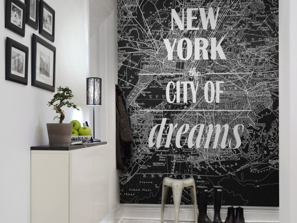 Wall Mural R10901 Map of Dreams image 1 by Rebel Walls