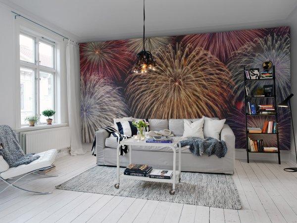Tapete R11371 Fireworks Bild 1 von Rebel Walls