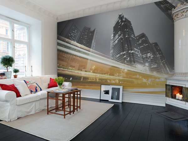 Wall Mural R11551 Speed of Light image 1 by Rebel Walls