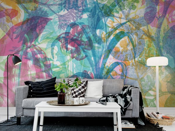 Wall Mural R12021 Jelly Belly Plants image 1 by Rebel Walls