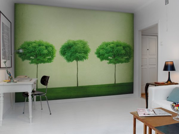 Wall Mural R12101 Three Trees image 1 by Rebel Walls