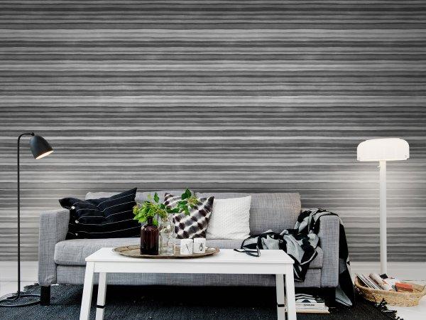 Wall Mural R12353 Ribbon, black&white image 1 by Rebel Walls