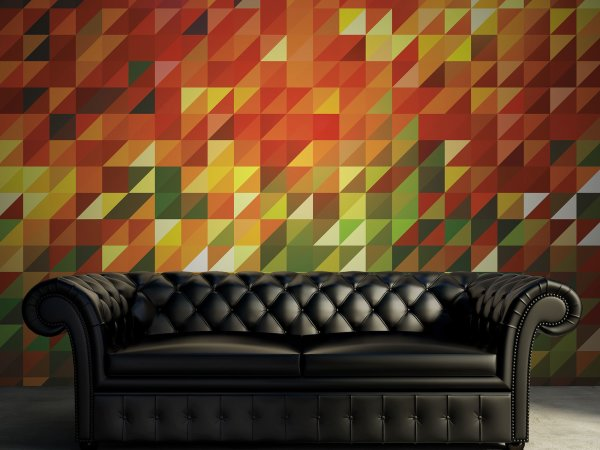 Wall Mural R12621 Slanted image 1 by Rebel Walls
