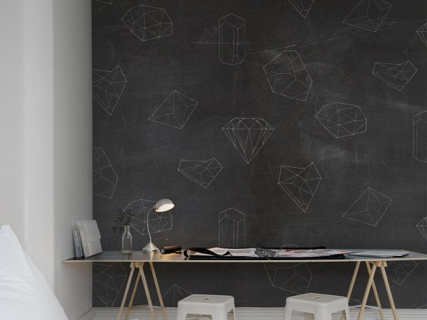 Wall Mural R13341 Chalkboard image 1 by Rebel Walls