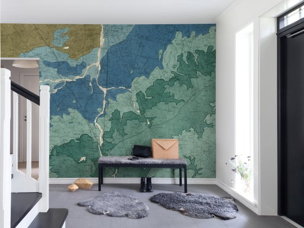 Wall Mural R13751 Oxford Clay image 1 by Rebel Walls