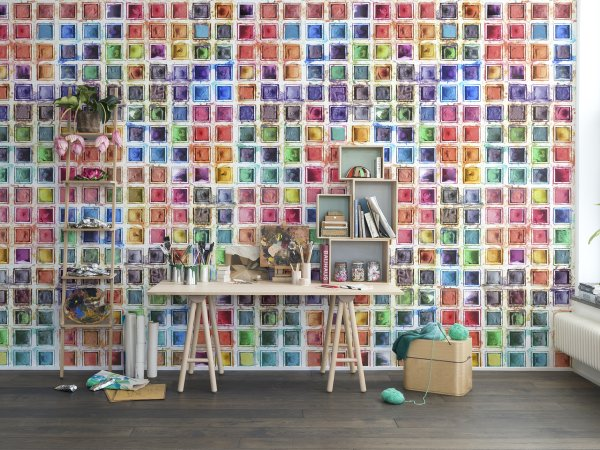 Wall Mural R13961 Rainbow Palette image 1 by Rebel Walls