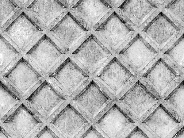 Wall Mural R12782 Concrete Trellis, grey image 1 by Rebel Walls