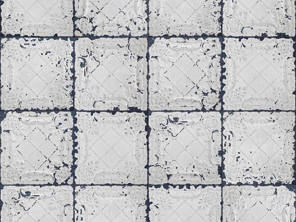 Wall Mural R12802 Tin Plates, Nebraska, white image 1 by Rebel Walls
