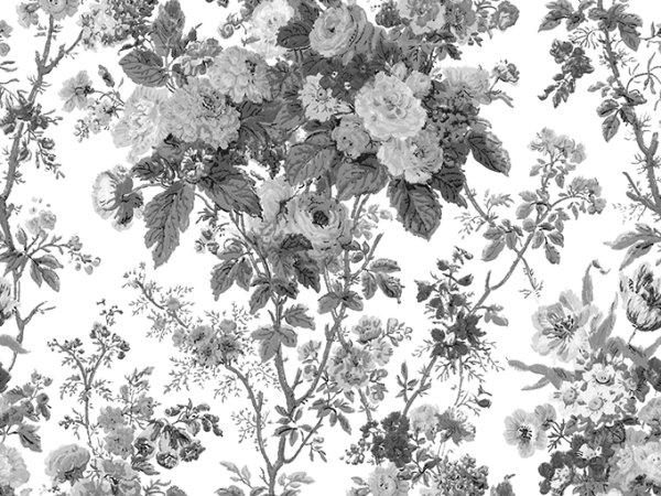 Tapete R13252 Bouquet, Black Bild 1 von Rebel Walls