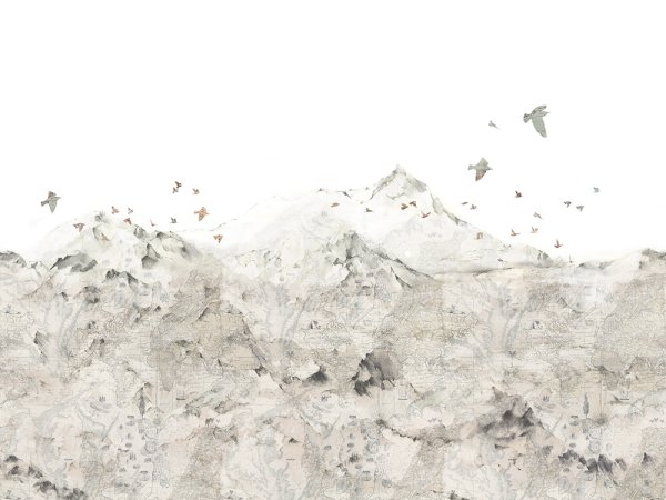 Wall Mural R13871 Paper Mountains image 1 by Rebel Walls