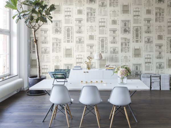 Wall Mural R12731 Architect, Vintage image 1 by Rebel Walls