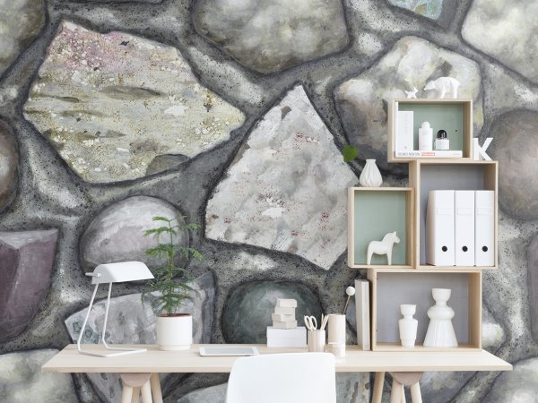 Wall Mural R12931 Stones image 1 by Rebel Walls