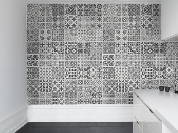Wall Mural R12721 Marrakech, black image 1 by Rebel Walls
