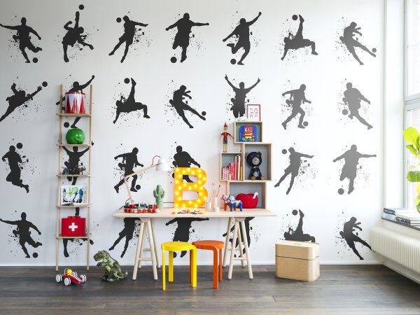 Wall Mural R13261 Footboll image 1 by Rebel Walls