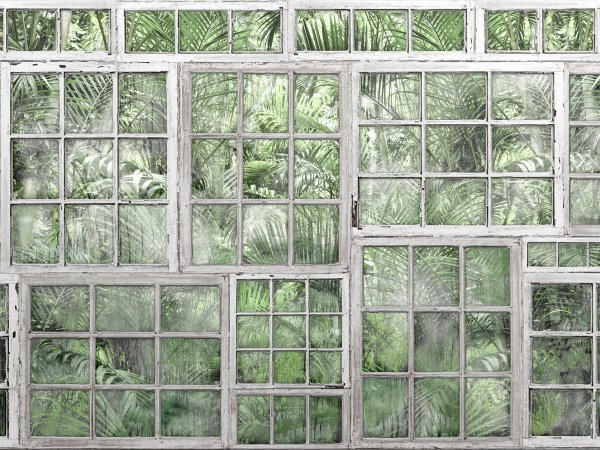 Wall Mural R14371 Perspective Jardin image 1 by Rebel Walls