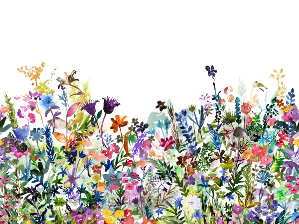 Wall Mural R14531 May Meadow image 1 by Rebel Walls