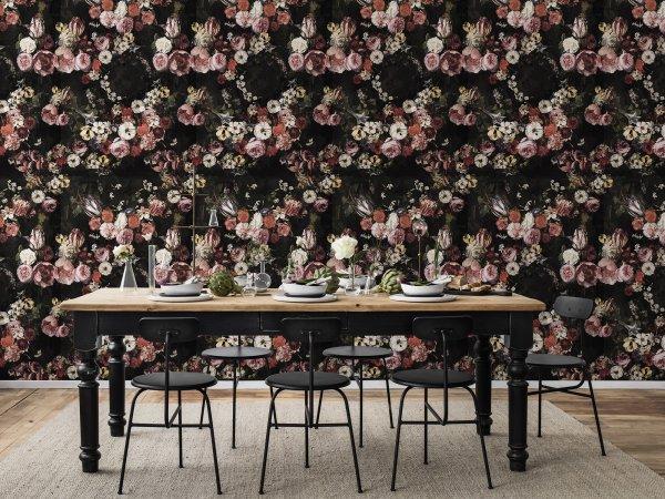 Wall Mural R14541 Briar Roses image 1 by Rebel Walls