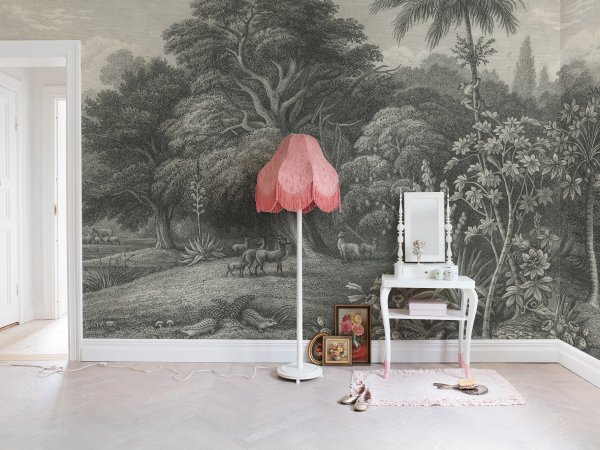 Tapete R14611 Jungle Land, Vintage Bild 1 von Rebel Walls