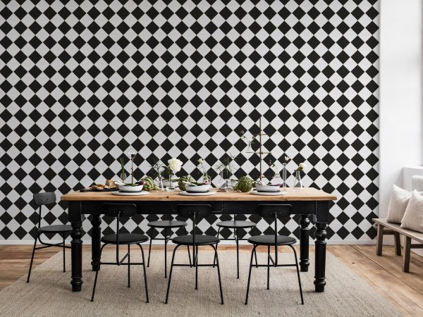 Wall Mural R14881 Diamond-Tiles image 1 by Rebel Walls