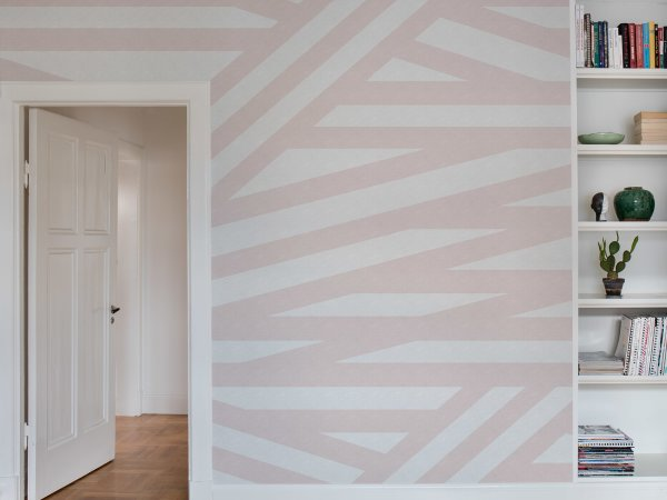 Wall Mural R15142 Sailor's Sea, Pink image 1 by Rebel Walls