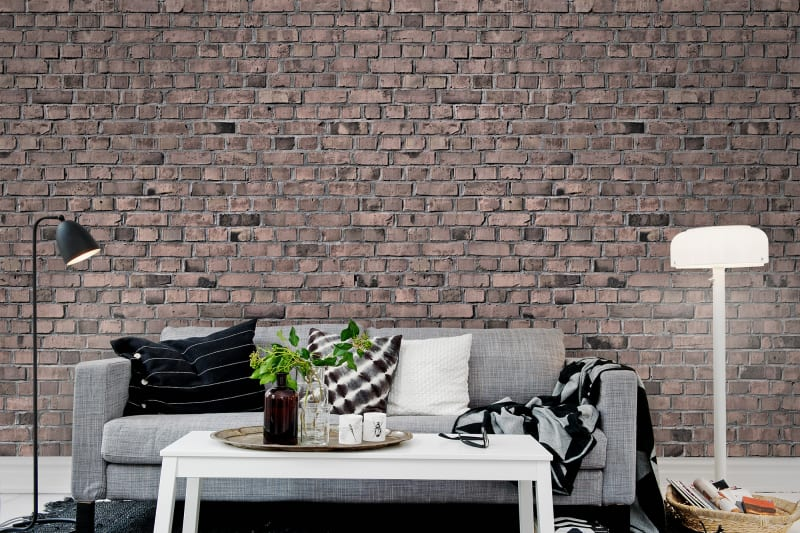 R10964 Brick Wall, Old Style