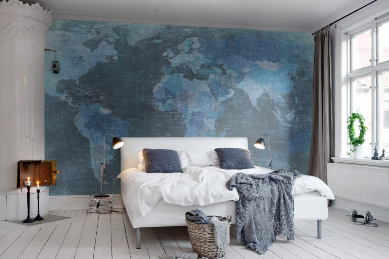 World map blue r10773 rebel walls us r10773 world map blue gumiabroncs
