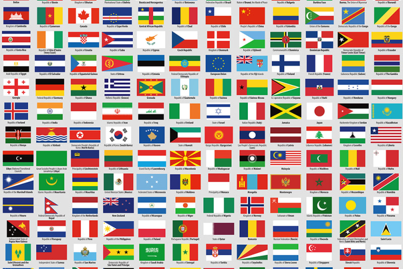 flags of sovereign states r10741 rebel walls
