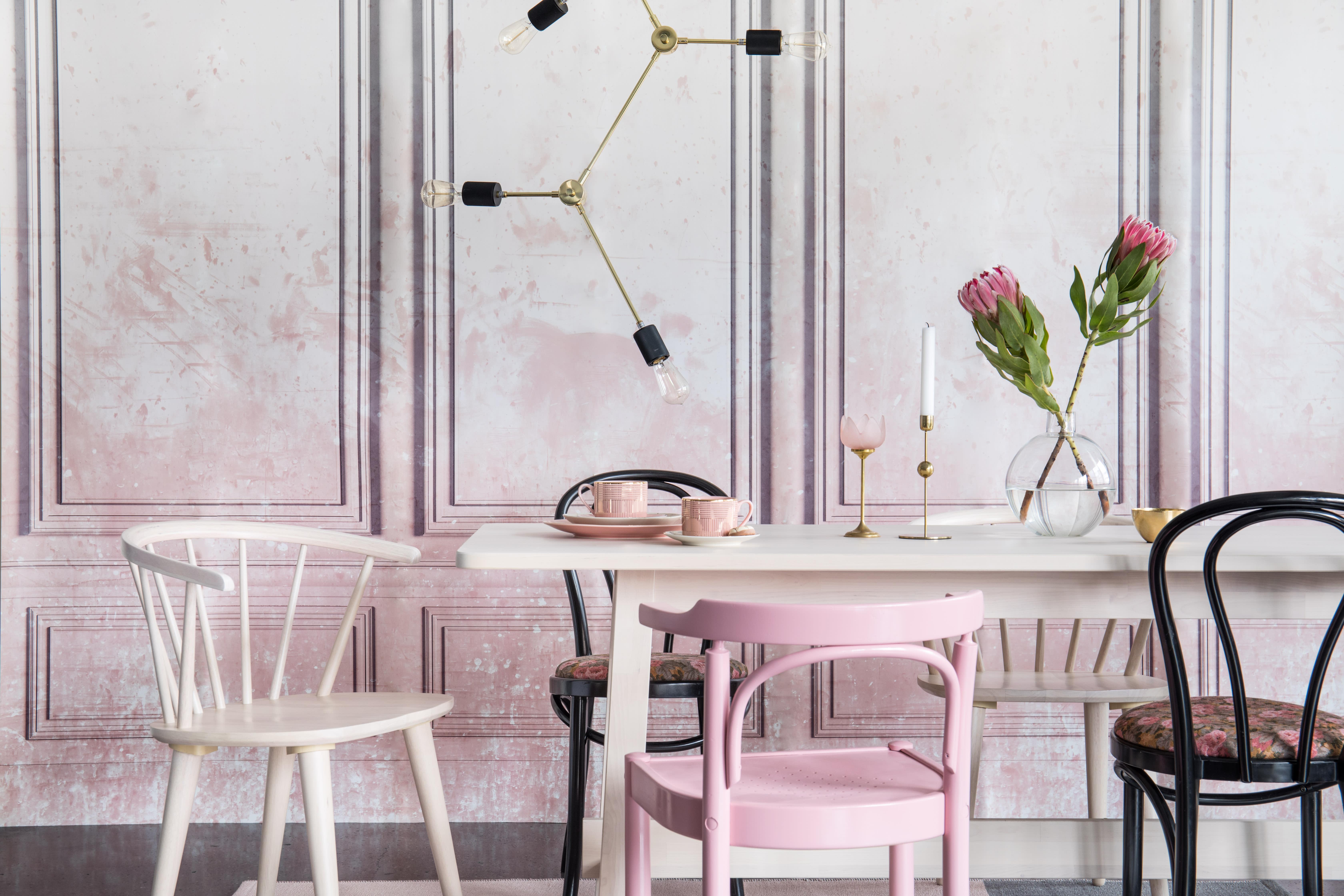 La colección de ensueño rosa