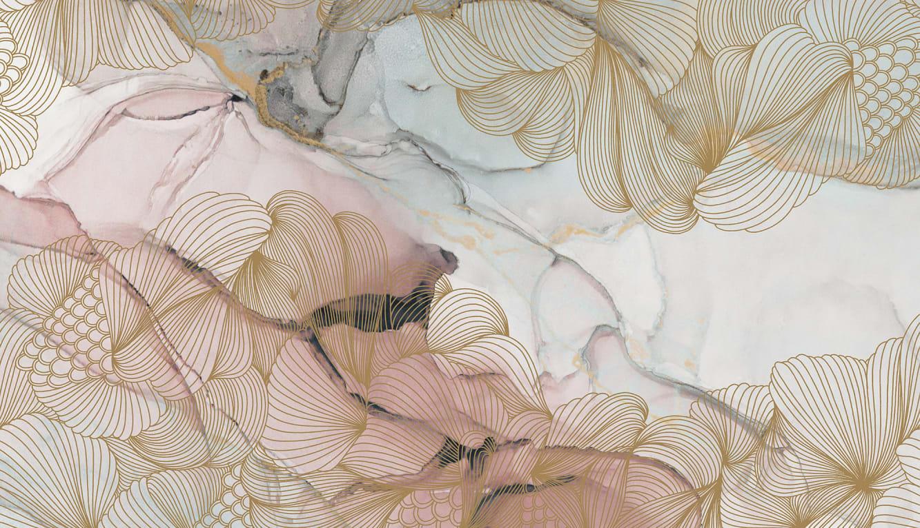 Opulence Pink Marble R17092 Rebel Walls
