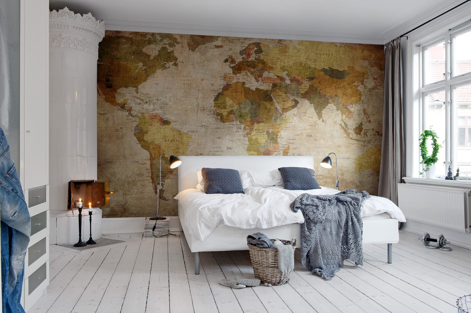 World map r10771 rebel walls en au create account wall mural r10771 world map gumiabroncs Images