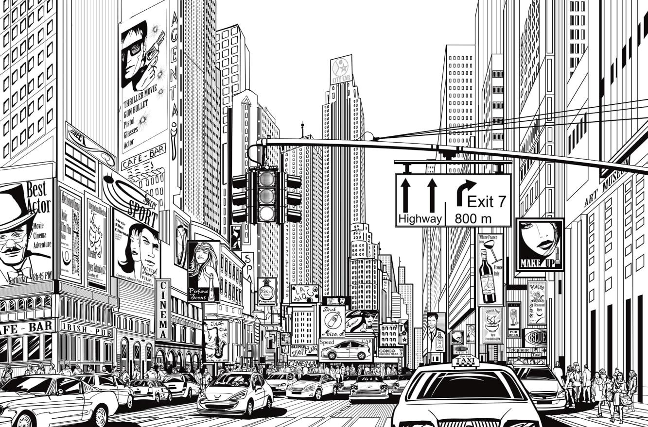 Cartoon City R10621 Rebel Walls