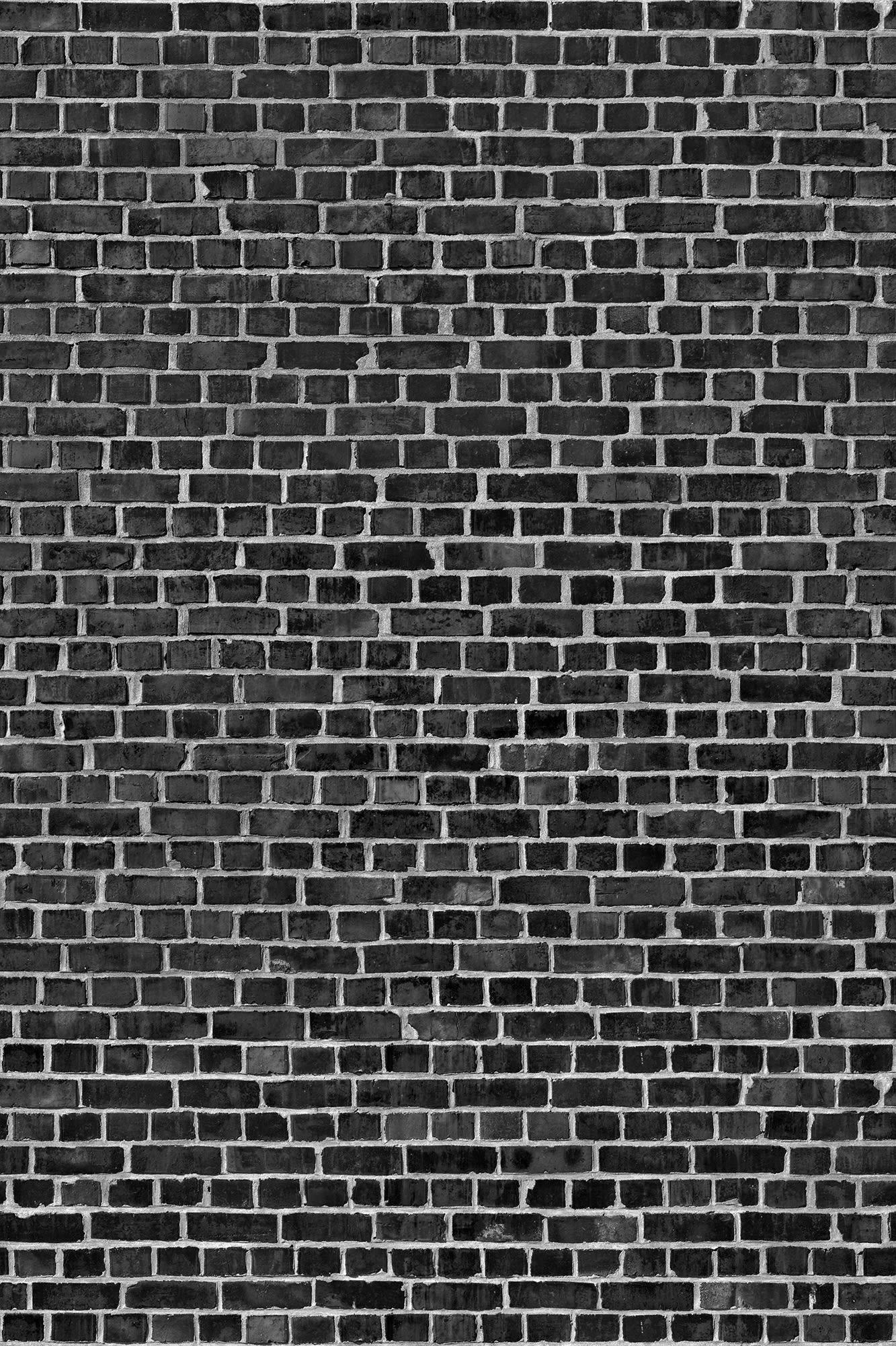Auto Store Near Me >> Brick Wall, black   R10962   Rebel Walls