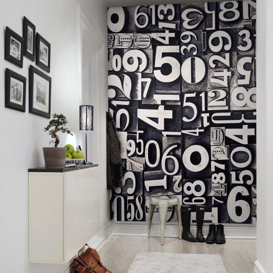 Wall Mural R10531 Sum of Numbers image 1 by Rebel Walls