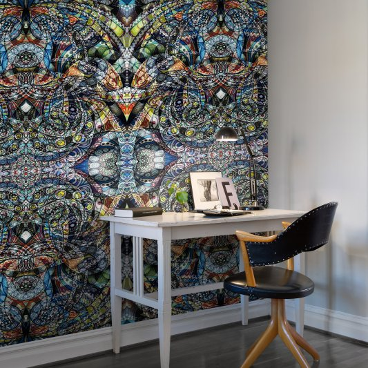 Wall Mural R10581 Kaleidoscope image 1 by Rebel Walls