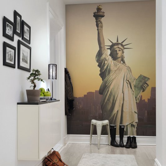Wall Mural R10651 Statue of Liberty image 1 by Rebel Walls