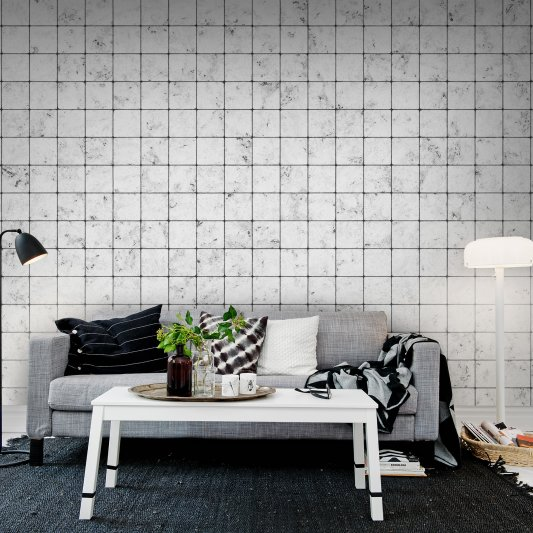 Wall Mural R12001 Marble Tiles image 1 by Rebel Walls