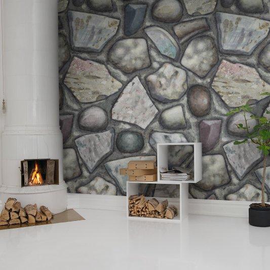 Tapete R12931 Stones Bild 1 von Rebel Walls