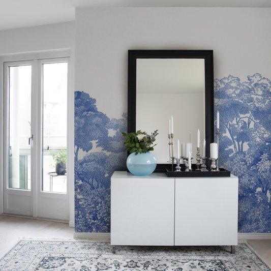 Tapete R13055 Bellewood, Porcelain Toile Bild 1 von Rebel Walls