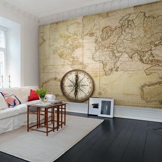 Wall Mural R10761 Du Globe Terres image 1 by Rebel Walls