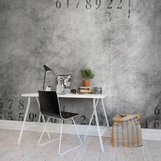 Wall Mural R10841 Dusty Rubber Stamp image 1 by Rebel Walls
